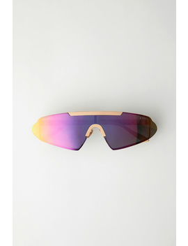 Sleek Sunglasses Pink/Multicolor by Acne Studios