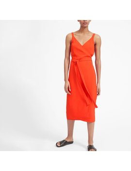The Japanese Go Weave Tank Wrap Dress by Everlane