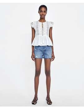z1975-high--waisted-denim-shortsshorts-pants-i-jeans-sale-woman by zara