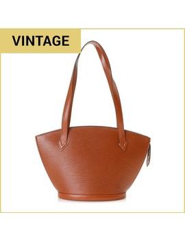 Louis Vuitton Saint Jacques Leather Long Strap Handbag   Vintage by Burlington