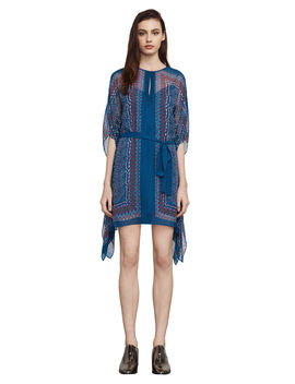 Inesa Tapestry Print Dress by Bcbgmaxazria