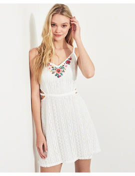 Textured Cotton Tank by Hollister