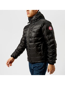 Canada Goose Men's Lodge Hoody Down Jacket   Black/Black by Canada Goose