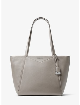 Whitney Large Leather Tote by Michael Michael Kors