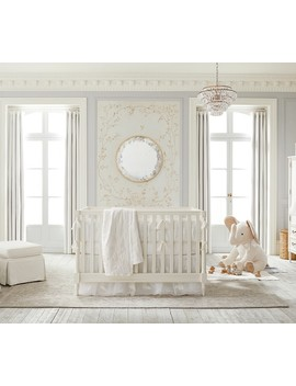 Monique Lhuillier Ivory Lace Baby Bedding by Pottery Barn Kids
