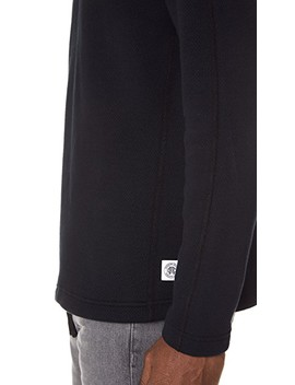 Mesh Double Knit Half Zip Long Sleeve Sweatshirt by Reigning Champ