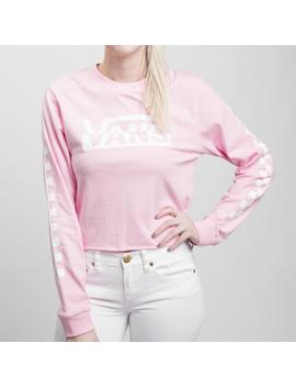 Womens Vans Blast Cropped Long Sleeve Tee by Vans
