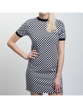 Womens Vans High Roller Checkered Dress by Vans