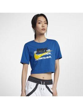 Nike Sportswear Women's Short Sleeve Crop Top. Nike.Com by Nike