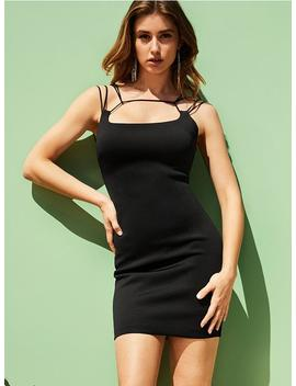 Strappy Mirage Bandage Dress by Guess
