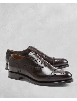 Golden Fleece® Medallion Captoes by Brooks Brothers