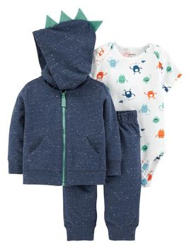 3 Piece Monster Little Jacket Set by Carter's