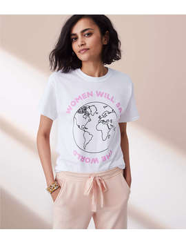 The Style Club Women Will Save The World Tee by Lou & Grey