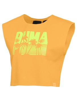Fenty Women's Short Sleeve Crop Top by Puma
