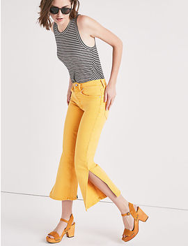 Lucky Pins High Rise  Jean With Side Slit by Lucky Brand