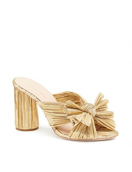 Penny Pleated Knot Slide by Loeffler Randall