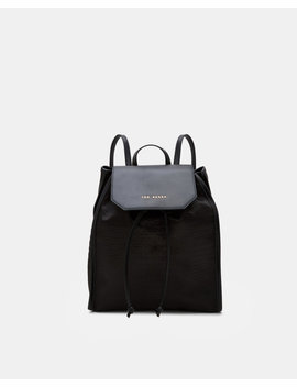Exotic Detail Backpack by Ted Baker