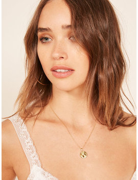 Earth Charm Necklace by Reformation