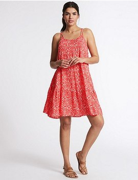 Woven Flippy Beach Dress by Marks & Spencer