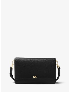 Pebbled Leather Smartphone Crossbody by Michael Michael Kors