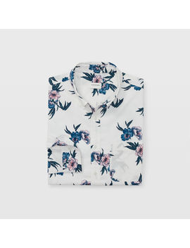Slim Beach Flower Shirt by Club Monaco