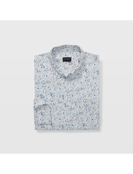 Slim Paint Drops Shirt by Club Monaco