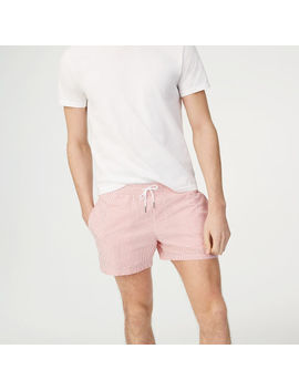 Arlen Seersucker Swim Trunk by Club Monaco