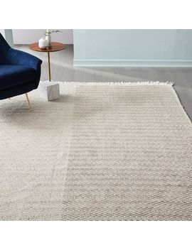 Duet Indoor/Outdoor Rug   Platinum by West Elm