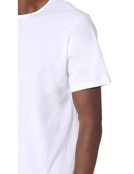 Superfine Cotton Crew Neck Undershirt by Sunspel