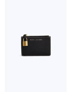 The Grind Top Zip Multi Wallet by Marc Jacobs