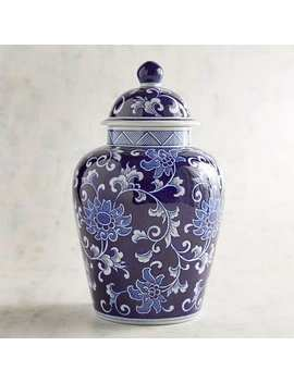 Blue Vine Temple Jar by Pier1 Imports