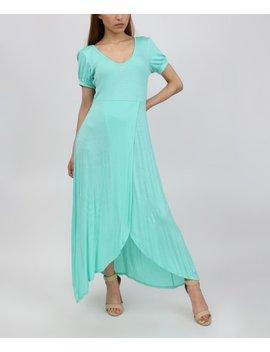 Aquamarine Tulip Maxi Dress   Women by Casa Lee