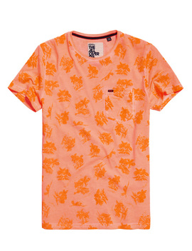 Whistler All Over Print Lite T Shirt by Superdry