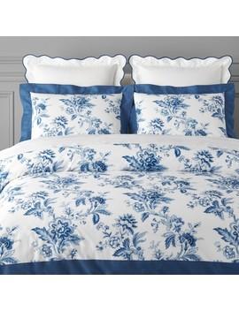 Aerin Fairfield Organic Printed Bedding by Williams   Sonoma