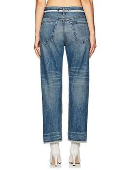 Inside Out Boyfriend Jeans by Helmut Lang