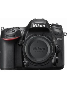 D7200 Dslr Camera (Body Only)   Black by Nikon