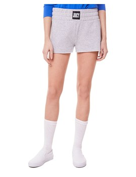 Fleece Juicy Logo Waistband Short by Juicy Couture