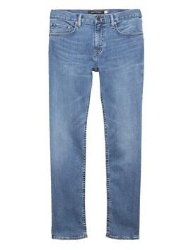 Slim Rapid Movement Denim Light Wash Jean by Banana Repbulic