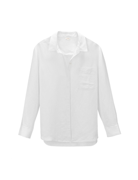 Linen Boyfriend Shirt by Cuyana