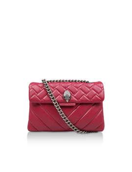 Leather Kensington X Bag by Kurt Geiger London