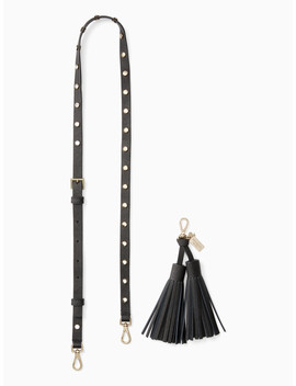 Make It Mine Crystal Overlay Strap/Tassel Pack by Kate Spade