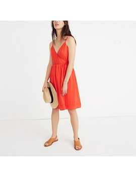 Sicily Cover Up Wrap Dress by Madewell