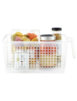 Clear Handled Storage Baskets by Container Store