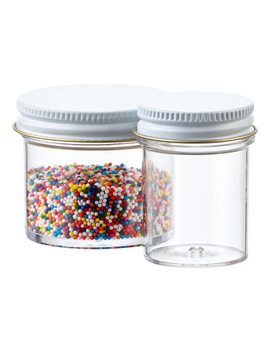 Commercial Plastic Screw Top Jars by Container Store