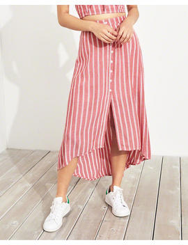 High Low Midi Skirt by Hollister