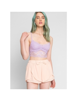 Aldergrove Chiffon Tulip Shorts by Wet Seal