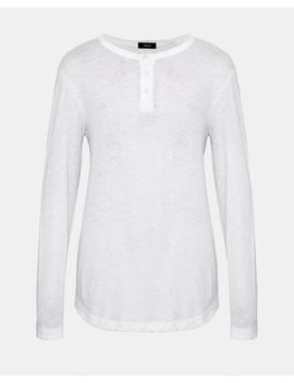 Cotton Core Henley Shirt by Theory