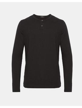 Cotton Henley Shirt by Theory