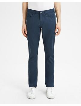 Garment Washed Cotton Raffi Pant by Theory