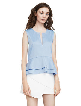 Kaylyn Peplum Top by Bcbgmaxazria